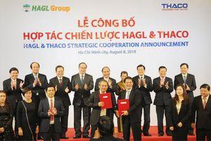 Thủ tướng Chính phủ dự lễ công bố hợp tác giữa Thaco và Hoàng Anh Gia Lai
