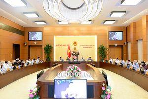 Ủy ban Thường vụ Quốc hội khai mạc Phiên họp thứ 26