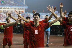 Clip: Olympic Việt Nam ăn mừng 'kiểu Viking' khi giành chức vô địch