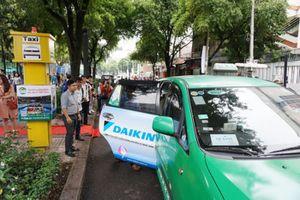 TP Hồ Chí Minh: Thí điểm các vị trí đón taxi tại khu vực trung tâm