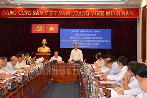 Ban Chỉ đạo Trung ương làm việc với TP HCM về thực hiện Nghị quyết 26