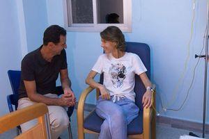 Phu nhân Tổng thống Syria đang điều trị ung thư vú
