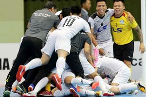 Futsal Thái Sơn Nam đánh bại CLB của Nhật Bản ở giải châu Á