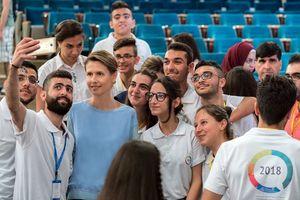 Chân dung 'bông hồng sa mạc' Syria Asma al-Assad