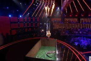Phần trình diễn rùng rợn khiến BGK 'thót tim' tại America's Got Talent