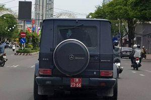 Xác định danh tính tài xế lái siêu xe tiền tỷ gắn biển đỏ giả