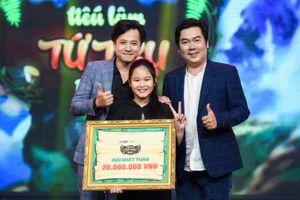 Cô bé Trúc Phương giành giải nhất tuần Tiếu Lâm Tứ Trụ Nhí