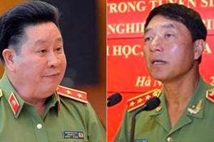 Giáng cấp bậc hàm với ông Trần Việt Tân và Bùi Văn Thành