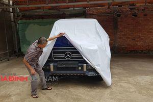 Cận cảnh chiếc xe Mercedes Benz G55 AMG nghi ngờ mang biển số giả của quân đội