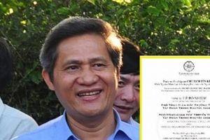 Nguyên Chủ tịch tỉnh Đắk Lắk lên tiếng về tin đồn làm Phó tổng tập đoàn Trung Nguyên