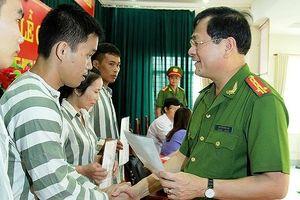 Xét tha tù trước thời hạn có điều kiện cho 110 phạm nhân