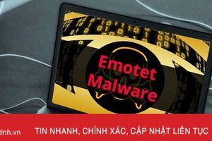 Ít nhất 171 hệ thống thông tin tại Việt Nam có thể bị nhiễm mã độc Emotet