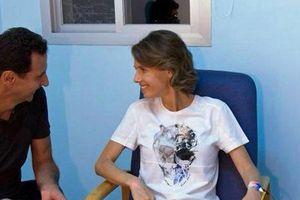 Phu nhân Tổng thống Syria mắc bệnh ung thư