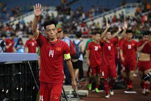 Được đồng đội tín nhiệm, Văn Quyết trở thành đội trưởng Olympic Việt Nam