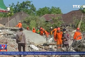 Indonesia nỗ lực khắc phục hậu quả động đất