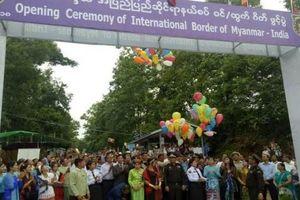 Myanmar mở trạm kiểm soát biên giới quốc tế mới với Ấn Độ