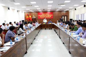 Bộ trưởng Lê Vĩnh Tân thăm và làm việc tại quận Hồng Bàng, thành phố Hải Phòng