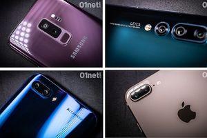 Soi những mẫu điện thoại chụp ảnh đẹp