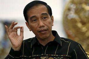 Tổng thống Indonesia Widodo sẽ chính thức đăng ký tranh cử