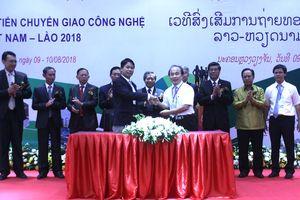 Việt Nam chuyển giao nhiều công nghệ mới trong nông nghiệp cho Lào