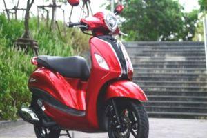 Ngắm 2018 Yamaha Grand Filano Hybrid màu đỏ giá 43 triệu đồng