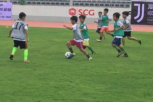 Xem buổi tuyển quân đầu tiên của Học viện bóng đá Juventus Việt Nam