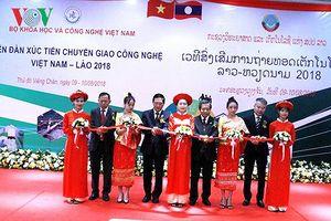 Thúc đẩy hợp tác công nghệ Việt Nam - Lào
