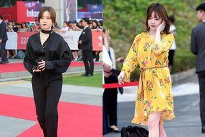 Goo Hye Sun lột xác ngoạn mục sau tin đồn tăng cân do mang thai