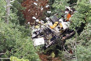 Rơi trực thăng cứu hộ ở Nhật, ít nhất 8 người chết
