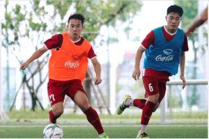 Thanh Chung bất ngờ bị chấn thương, HLV Park Hang-seo gọi Minh Vương thế chỗ