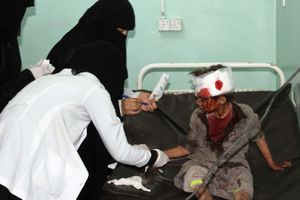 Trẻ em Yemen trở thành lá chắn sống, 127 người thương vong