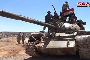 Quân tinh nhuệ Syria ào ạt đánh chiếm các cao điểm IS trên sa mạc Sweida