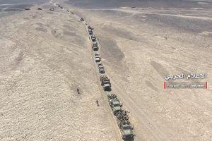 'Hung thần Syria' dồn dập tấn công tiêu diệt IS tại Sweida, không quân hủy diệt đoàn xe khủng bố