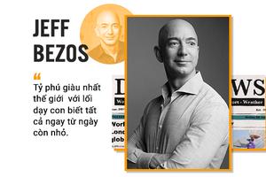 Tỉ phú Jeff Bezos sẵn sàng cho con 'chơi dao đứt tay còn hơn không biết gì'