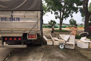 Thanh Hóa: Bắt giữ 250 kg thịt gà đang phân hủy trên đường vận chuyển ra Hà Nội tiêu thụ.