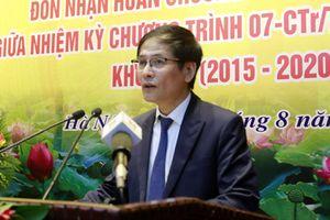 Ban Nội chính Thành ủy Hà Nội đón nhận Huân chương Lao động hạng Ba