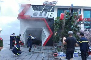 Cháy lớn tại Z Club ở Nha Trang, hàng chục người hoảng loạn