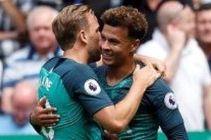 Newcastle thua Tottenham 1-2 trên sân nhà