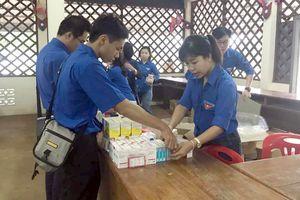 Dấu chân tình nguyện trên đất bạn Lào