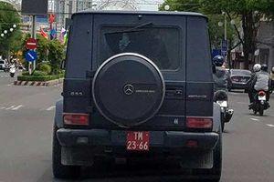 Mercedes-Benz G55 AMG tiền tỷ đeo biển 'rởm' tại Cần Thơ
