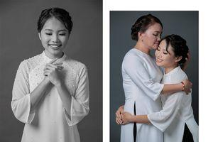 Phương Mỹ Chi thực hiện bộ ảnh cùng mẹ nhân dịp Vu Lan