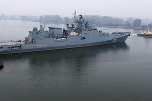 Rộ tin chiến hạm Nga âm thầm đuổi theo tàu ngầm Mỹ ở Địa Trung Hải