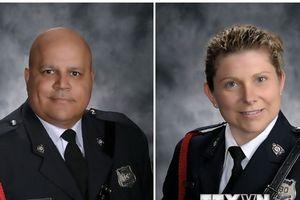Danh tính 2 cảnh sát thiệt mạng trong vụ xả súng gây sốc ở Canada