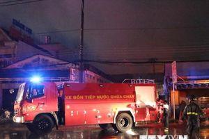 Long An: Khống chế hoàn toàn vụ cháy tại công ty cao su