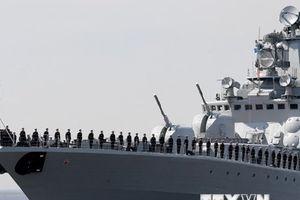 Hai tàu chiến của Hạm đội phương Bắc Nga tiến vào Địa Trung Hải