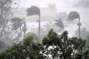 Áp thấp nhiệt đới mạnh lên hướng vào Bắc Bộ, giật tới cấp 9