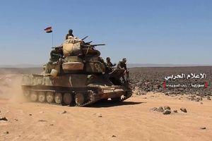 Chiến sự Syria: Quân chính phủ giải phóng một phần phía đông Sweida