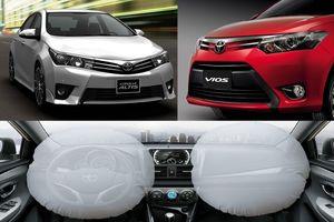 Toyota Việt Nam triệu hồi gần 12 nghìn xe khắc phục lỗi túi khí