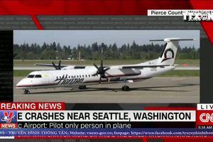 Máy bay Mỹ bị cướp rơi gần Seatle