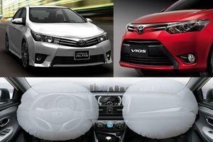 Toyota Việt Nam tiếp tục triệu hồi gần 12.000 xe liên quan lỗi túi khí